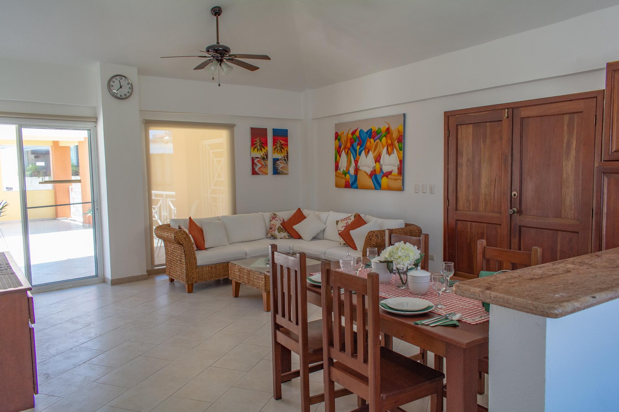 2 bedrooms apartment in El Dorado with rooftop (311B-EL)