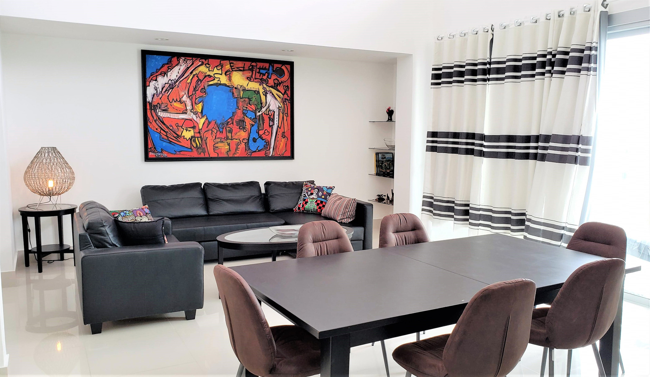 Spacious penthouse with 3 bedrooms in Palms Punta Cana (P-B403)