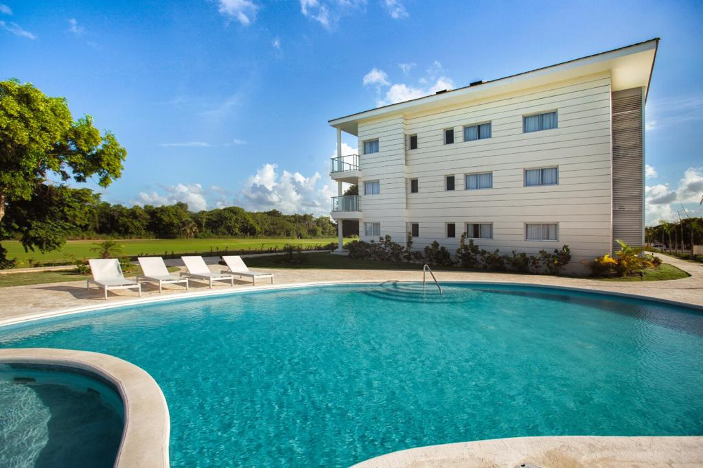 New 2-bedroom apartment with large terrace in Golf Residence (PB-GR)