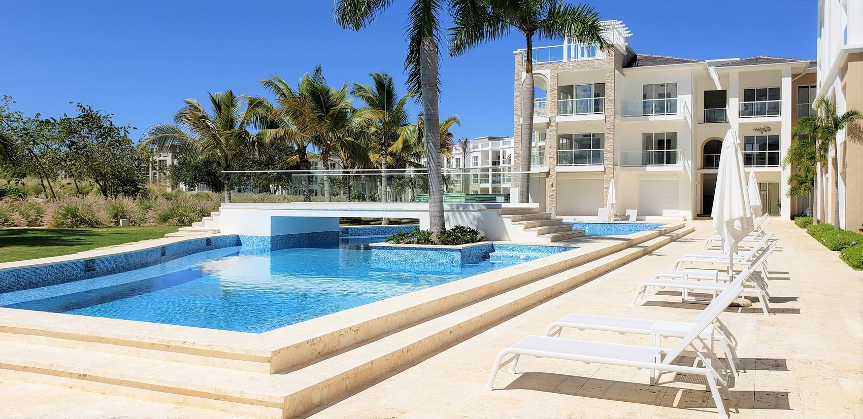 2 bedroom furnished apartment in a new project in Punta Cana (B102-CP)