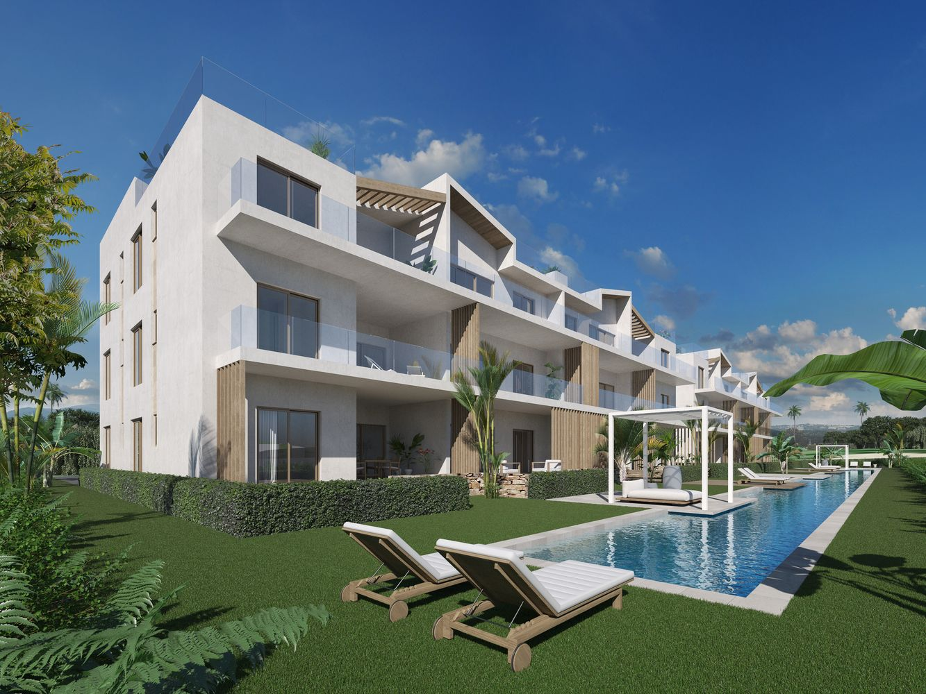 Superb new apartments in Bavaro Cocotal (GG-CC)