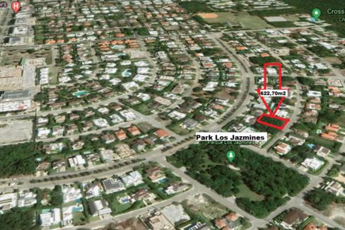 Nice plot of land in Punta Cana Village