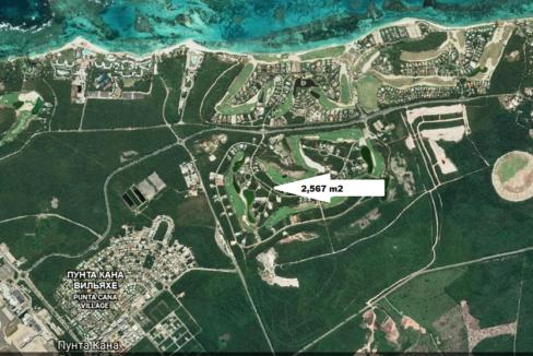 Plot of land in Punta Cana