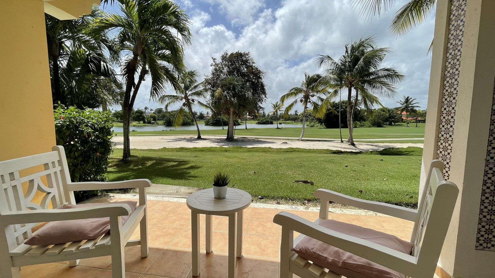 Apartment with golf view in Cocotal, Bavaro (7092-GS)