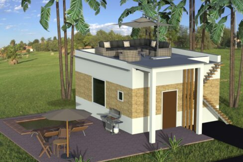 new project of countryside houses